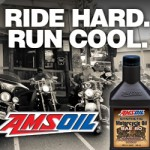 AMSOIL motor oils provides heat protection for motorcycles