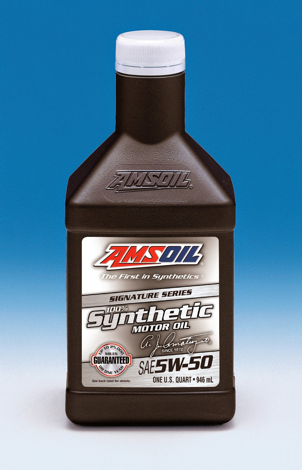 Synthetic 5W 50 oil for High Horsepower Ford Mustangs
