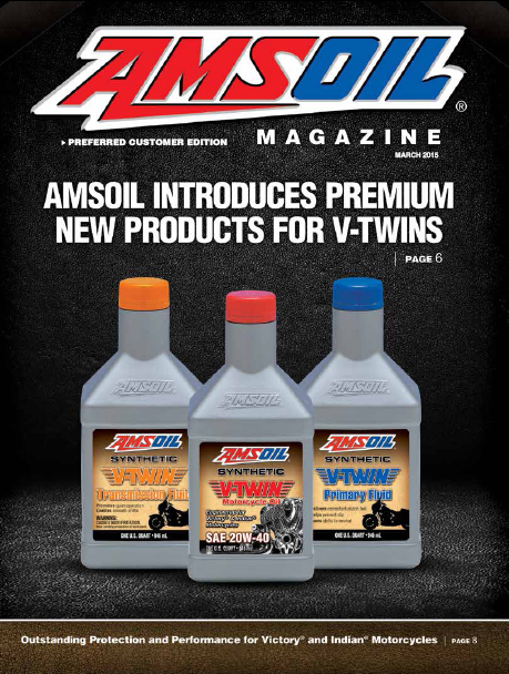 AMSOIL Motorcycle lubricants
